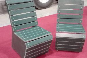 Krzesła z ekopłyty